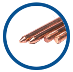 Copper Bonded Earth Rods Earthing Rods Copper Rods