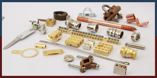 Brass Electrical Accessories Brass Electrical Components
