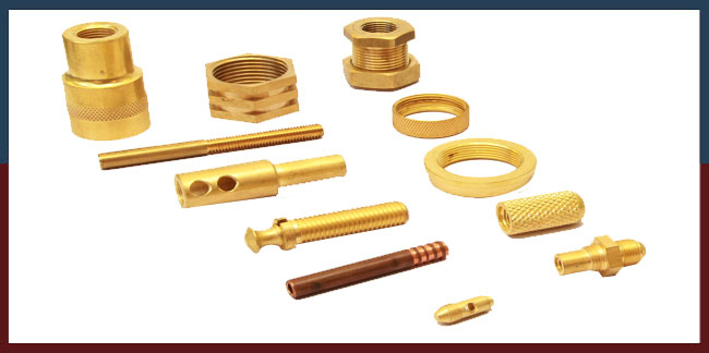 Brass Turned Components Brass Turned Parts