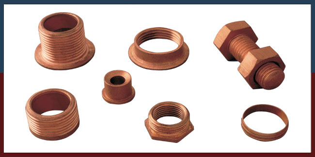 Copper Fittings Copper Components Copper Parts